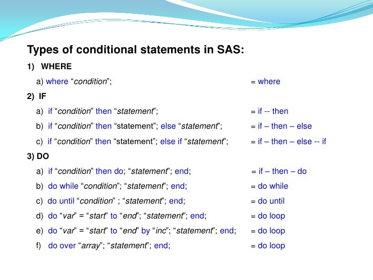 the statement of condition Introduction to if  or zero if no condition tested true  in a script, the different parts of the if statement are usually well-separated.