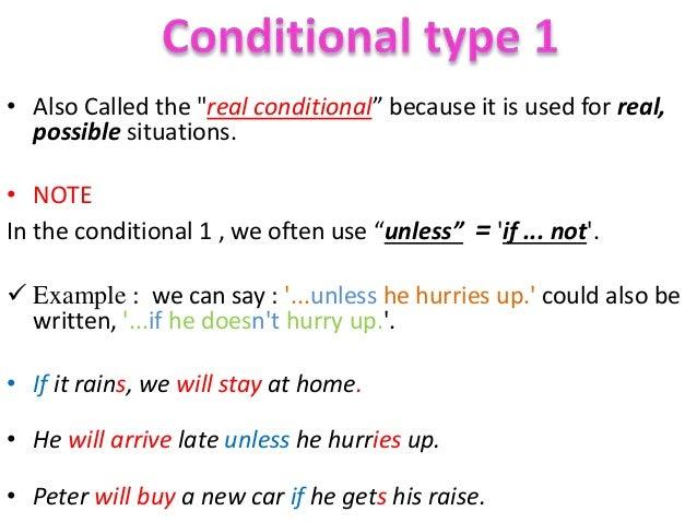 English worksheet: Conditional Sentences (Type 0, 1, 2 & 3 ...