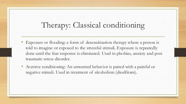 Classical Conditioning and the Treatment of Phobias