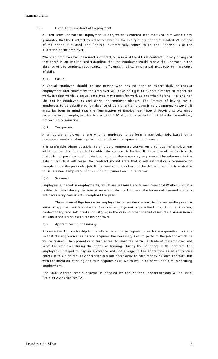 Jayadeva De Silva 1; 2. Humantalents ...