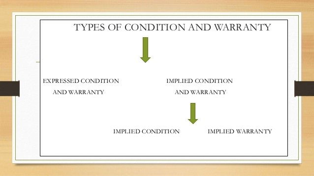 Warranty Terms & Conditions