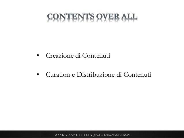 Condé Nast Italia for digital innovation Slide 3