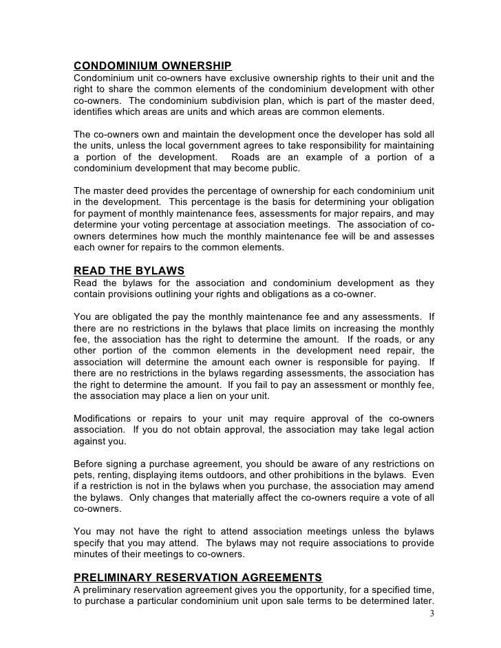 Condo Buyer Handbook 2005 158892 7