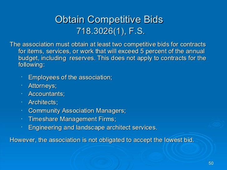 Condominium Association Responsibilities