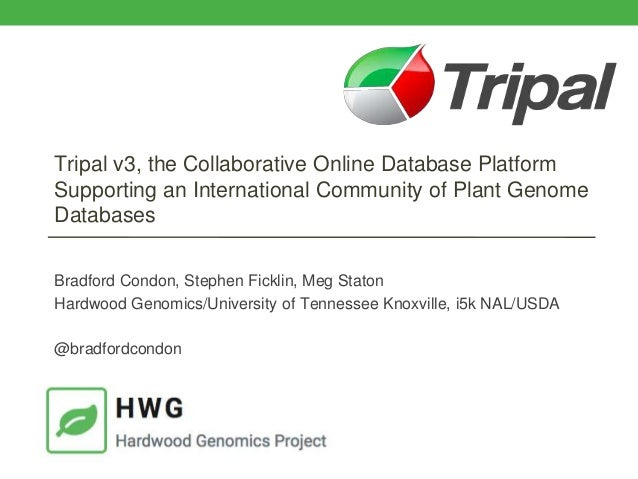 Tripal v3, the Collaborative Online Database Platform Supporting an International Community of Plant Genome Databases Brad...