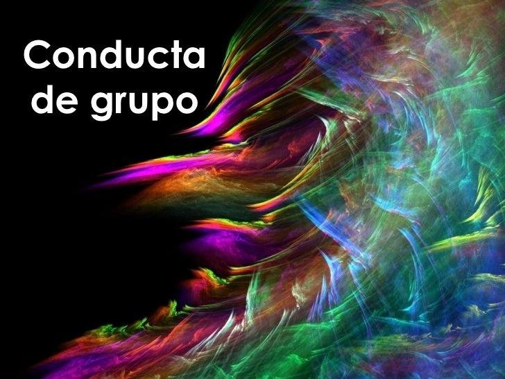 Conductade grupo