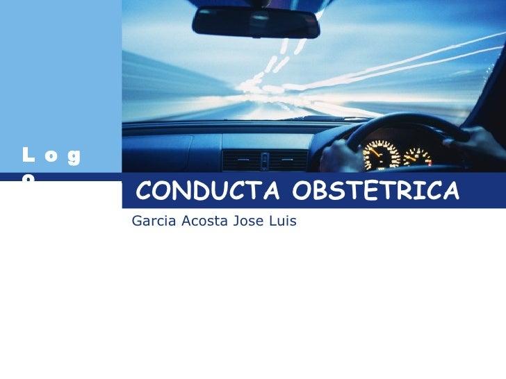 CONDUCTA OBSTETRICA Garcia Acosta Jose Luis