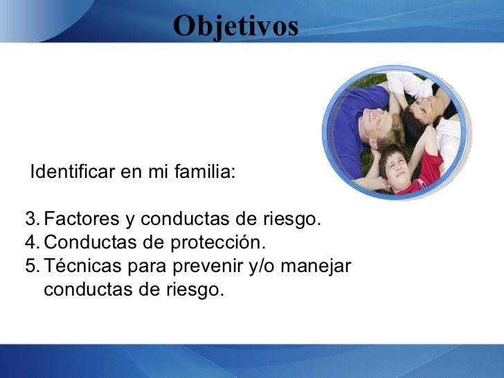 Prevención  de conductas de riesgo  Slide 2