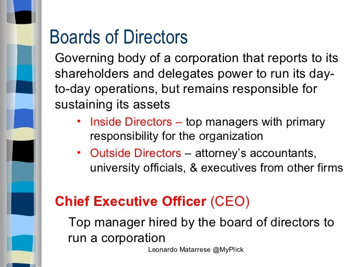 Accountants Governing Body