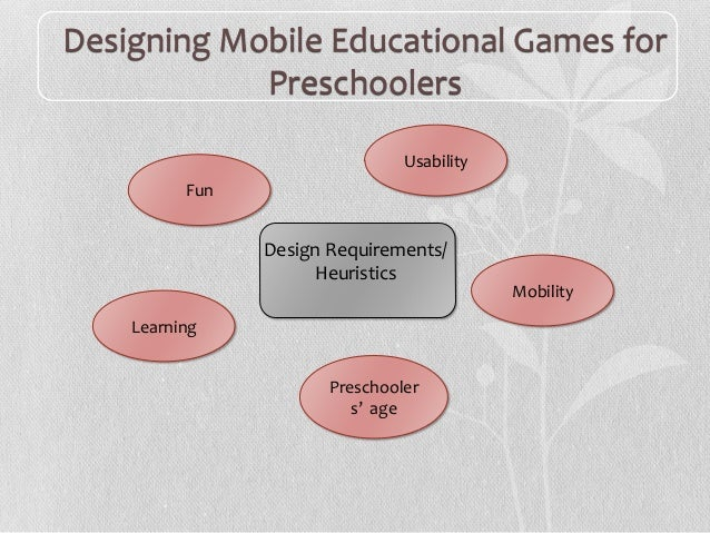 Conducting Evaluation Studies of Mobile Games with Preschoolers Slide 3