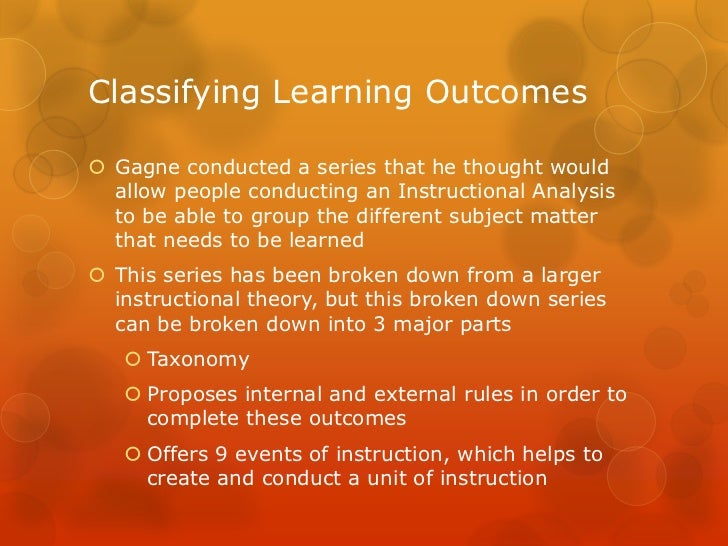 what is instructional analysis