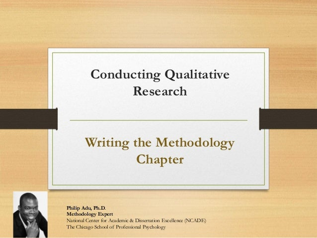 dissertation methodology qualitative