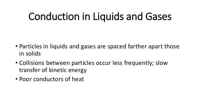 Conduction in Liquids