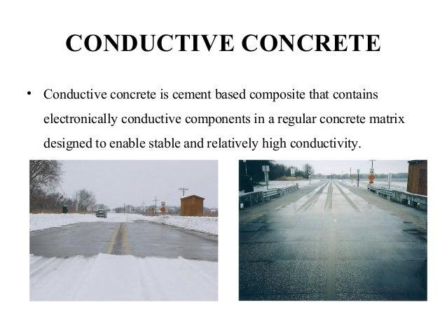 Fly Ash Concrete >> Conductive concrete ppt (1)