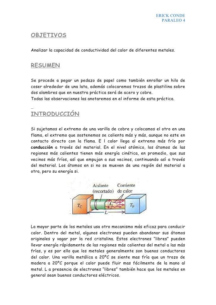 ERICK CONDE                                                                PARALEO 4   OBJETIVOS  Analizar la capacidad de...