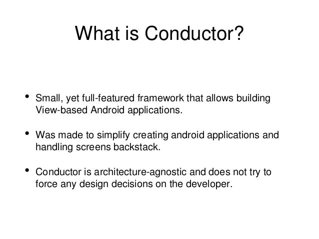 Conductor vs Fragments Slide 3