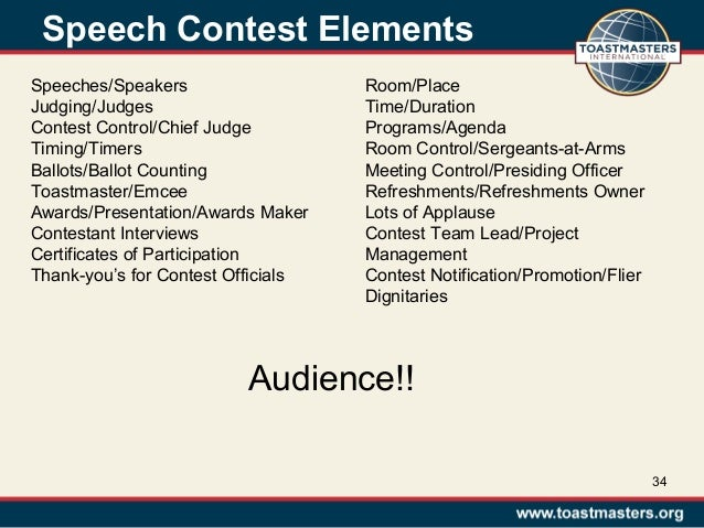 conduct quality speech contests 20130713