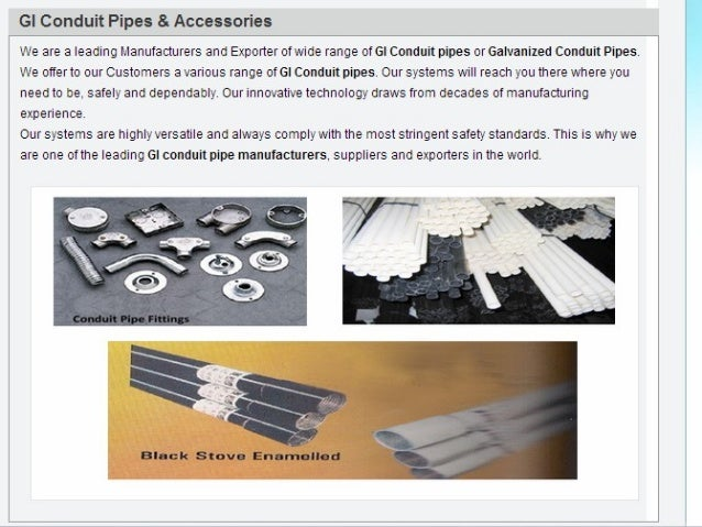 Conduit Pipes Manufacturers, Electrical Conduit Pipes Manufacturers, india, Delhi