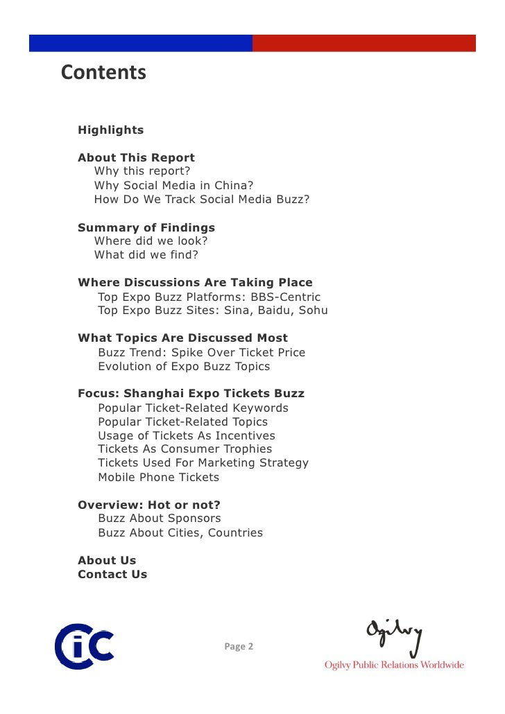 Shanghai Expo Chinese-language Social Media Buzz Slide 2