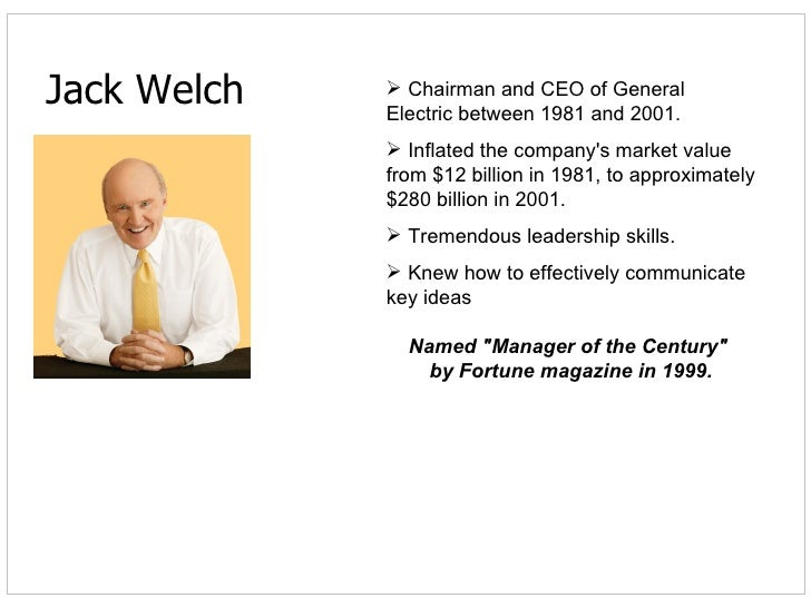 compare leadership styles between jack welch and jeff immelt Welch and immelt obviously had very different leadership styles welch and immelt had different approaches for the execution of work immelt took over at ge during a difficult time, so the external environment impacted his leadership.