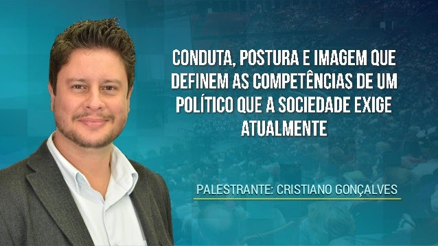 PALESTRANTE: CRISTIANO GONÇALVES