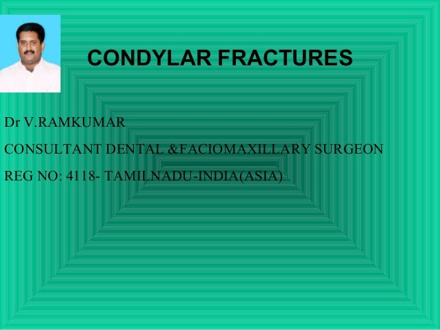 management of mandibular condylar fractures mcf Displaced fractures resulting in shortening of the ramus height or when the fracture segment interferes with normal mandibular function the main advantage of an extraoral approach is the direct access and improved visualization of the fracture for reduction and fixation.