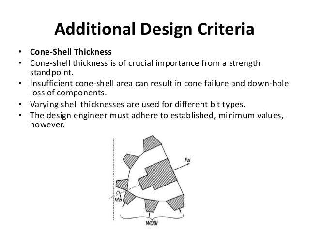 Additional Design Criteria • Cone-Shell Thickness • Cone-shell thickness is of crucial importance from a strength standpoi...