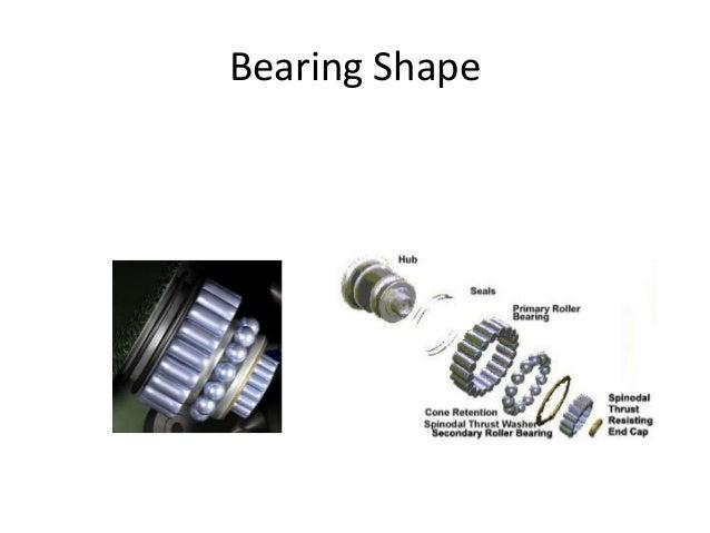 Bearing Shape