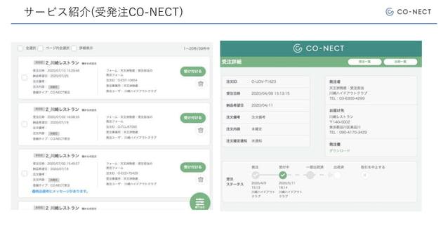 サービス紹介(受発注CO-NECT)