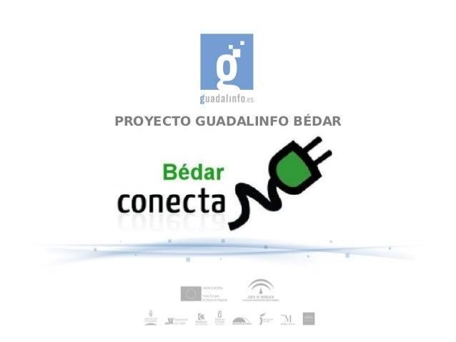 PROYECTO GUADALINFO BÉDAR
