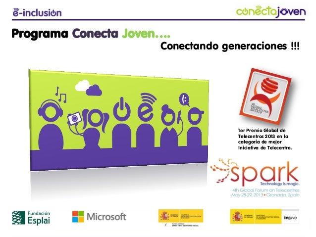 www.fundacionesplai.orgwww.esplai.org(+34) 93 474 7474fundacion@esplai.orgPrograma Conecta Joven….Conectando generaciones ...