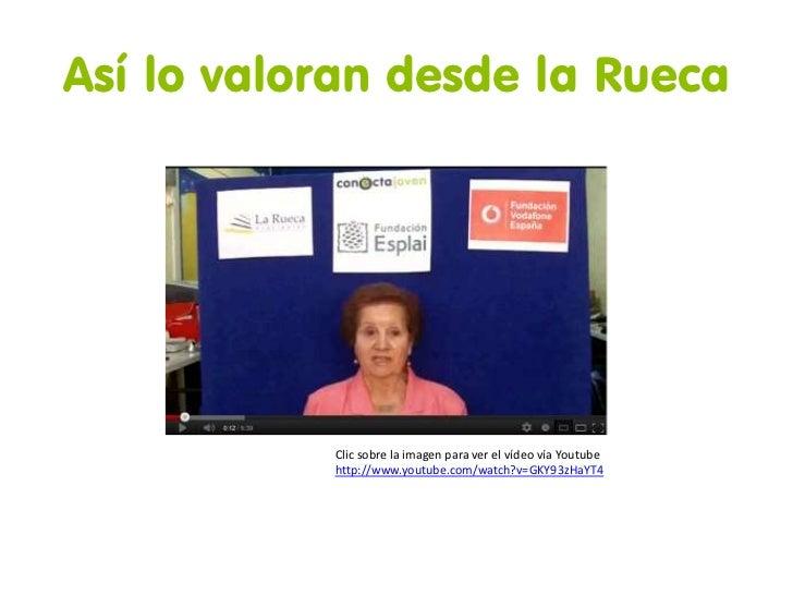Así lo valoran desde la Rueca           Clic sobre la imagen para ver el vídeo vía Youtube           http://www.youtube.co...