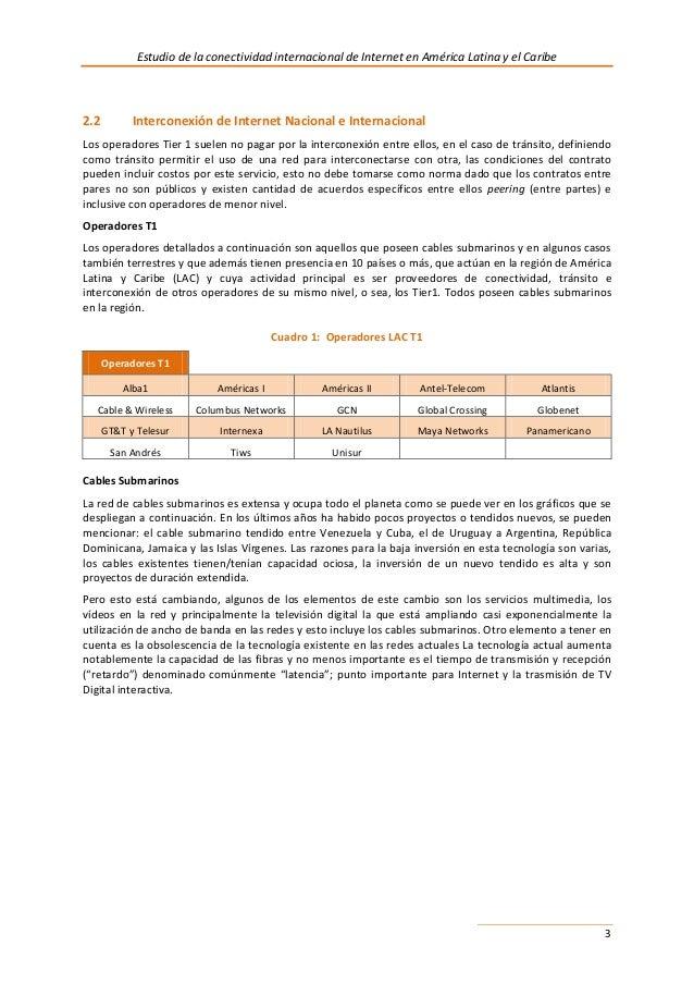 Conectividad Datos De Acceso A Internet 2013