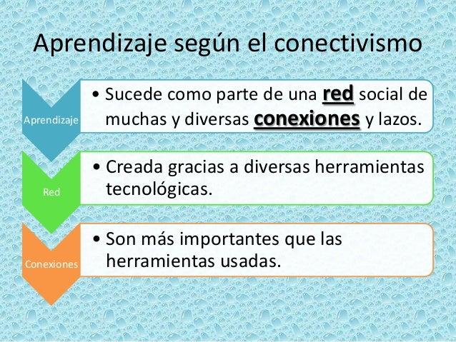 Conectivismo Slide 3