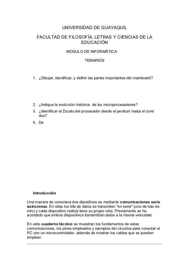 UNIVERSIDAD DE GUAYAQUIL     FACULTAD DE FILOSOFÍA, LETRAS Y CIENCIAS DE LA                      EDUCACIÓN                ...