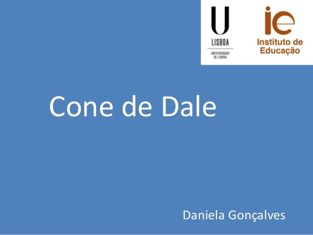 Cone de Dale Daniela Gonçalves