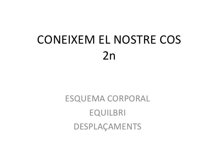 CONEIXEM EL NOSTRE COS 2n ESQUEMA CORPORAL EQUILBRI DESPLAÇAMENTS