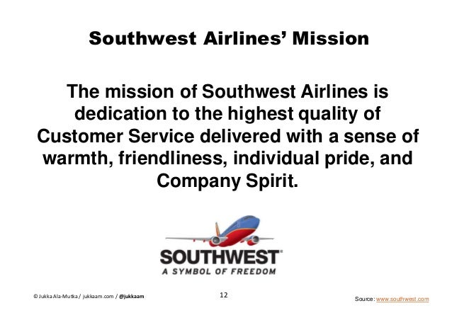 southwest airlines recommendation case study Strategic analysis: southwest airlines co shekera alvarado mba 700: strategic management southern new hampshire university  leadership leadership recommendations .