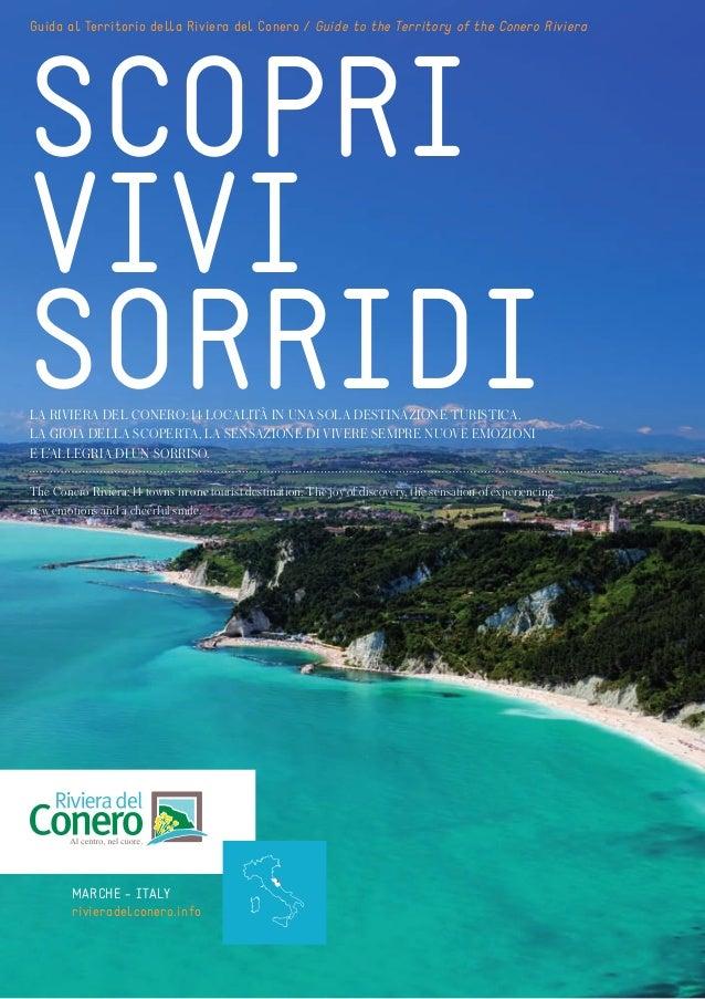 Guida al Territorio della Riviera del Conero / Guide to the Territory of the Conero RivieraSCOPRIVIVISORRIDILA RIVIERA DEL...
