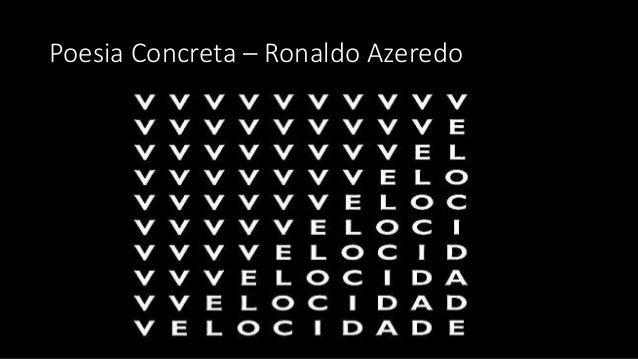Poesia Concreta – Ronaldo Azeredo