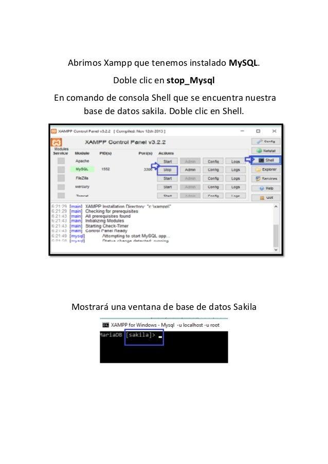 Conexi U00f3n De Excel A Mysql Usando Base De Datos Sakila
