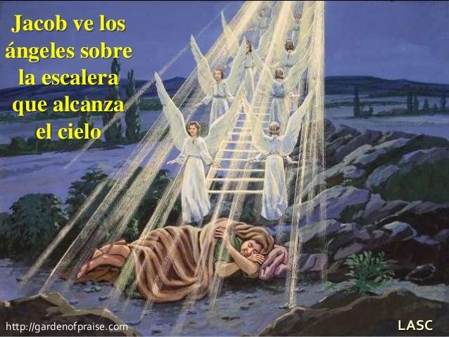 Conf 1 jacob huye a haran 2 dios se aparece a jacob en for La escalera de jacob