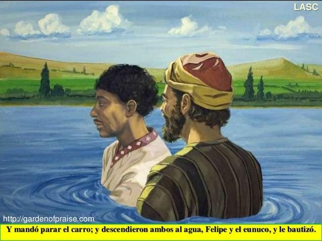 Conf el encuentro entre felipe el evangelista y el etiope for Gimnasio 9 entre 40 y 41