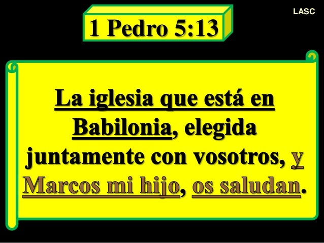Resultado de imagen para 1 DE PEDRO 5:13
