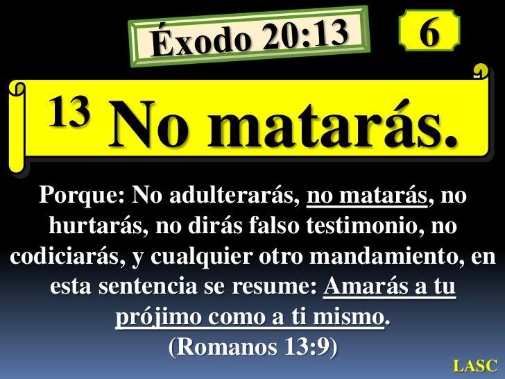 Conf Exodo 20 1 26 Ex No 20 Los Diez Mandamientos Y El Temor D