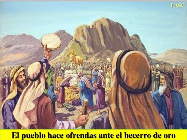Resultado de imagen para toro de oro biblia