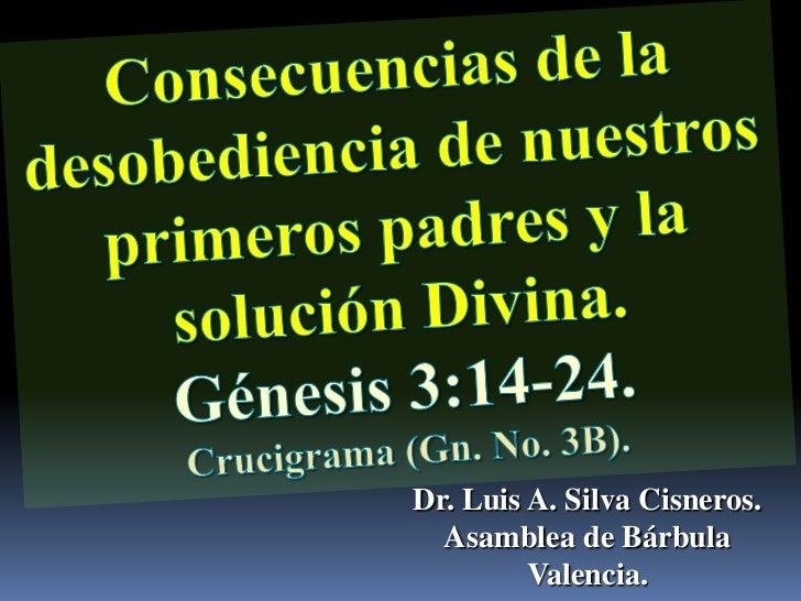 Dr. Luis A. Silva Cisneros.  Asamblea de Bárbula         Valencia.