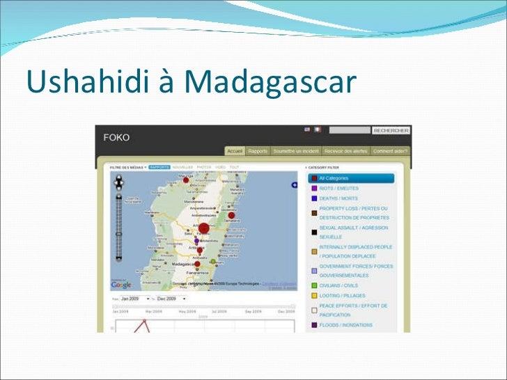 Ushahidi à Madagascar