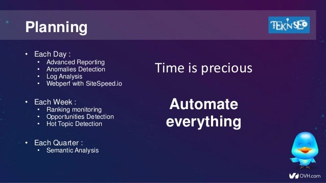 How to automate all your SEO projects