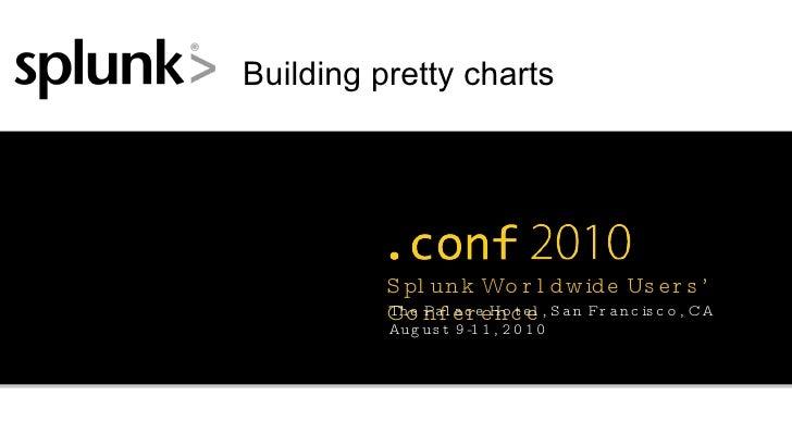 Building pretty charts